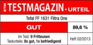 tefal fritteuse test gut